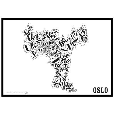 TGIOC Oslo kartta juliste