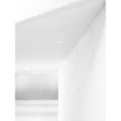 Bodil Bergqvist White Stairs juliste