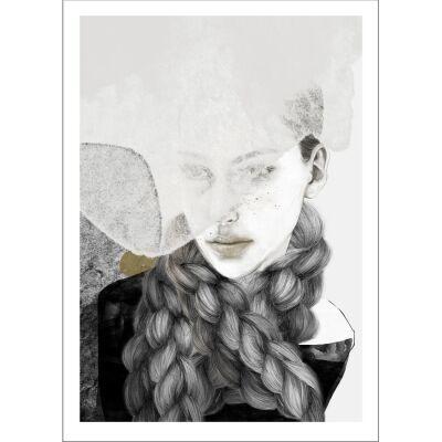 Anna Bülow Braids juliste 50x70