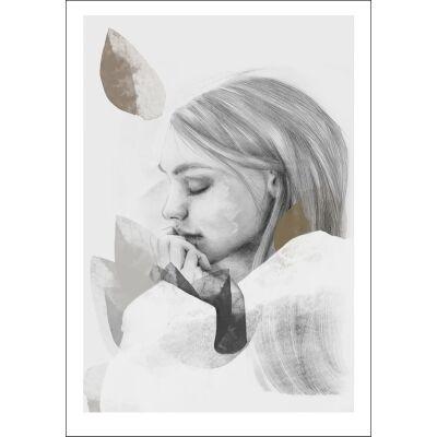 Anna Bülow Dreamer in white juliste 50x70