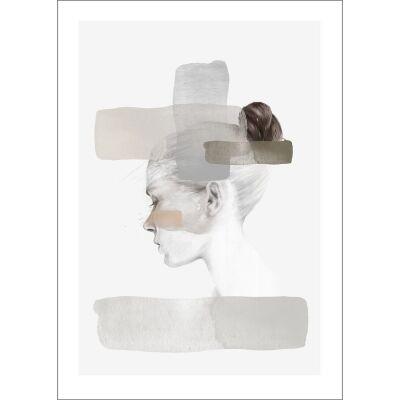 Anna Bülow Insideout blush juliste 50x70