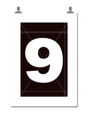 Wallstuff Number Nine juliste