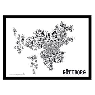 TGIOC Göteborgin kartta juliste