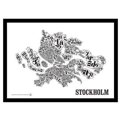 TGIOC Tukholman kartta juliste