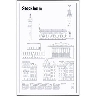 Studio Esinam Stockholm Elevations juliste