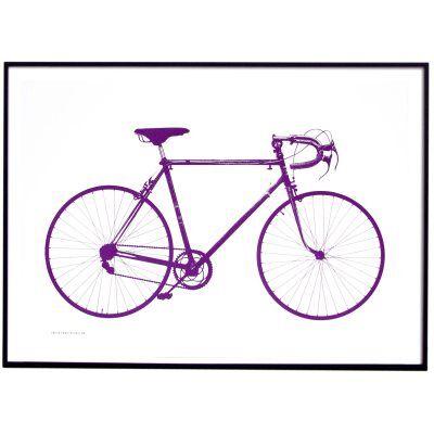 Jollygoodfellow Världsmästarcykeln juliste, violet