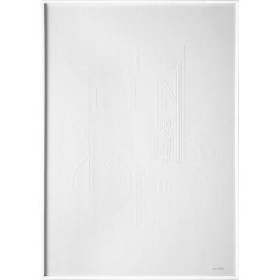 Kristina Dam Bauhaus juliste, valkoinen