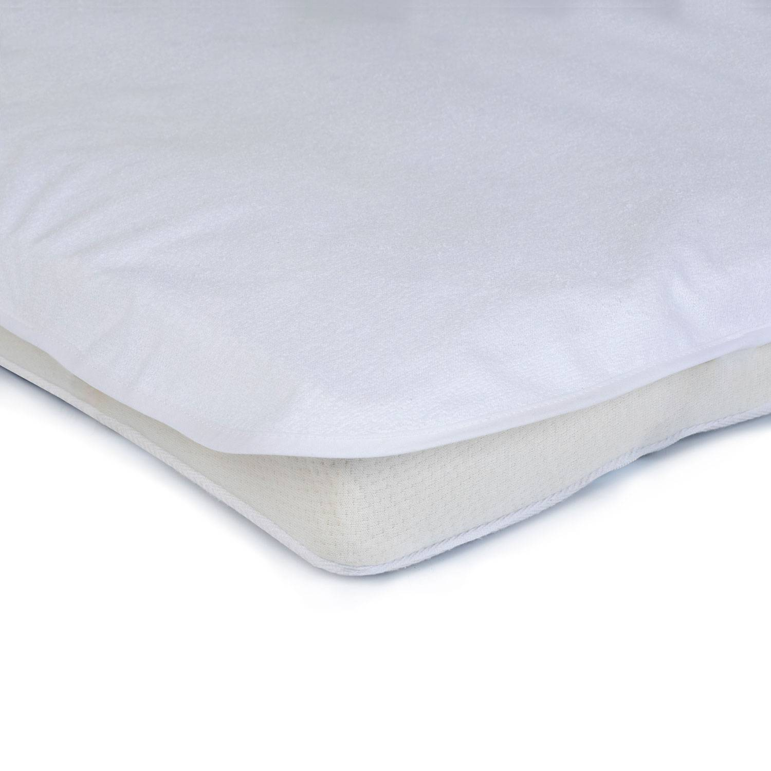 Mille Notti-Protect Baby Mattress Cover 100x150cm, White