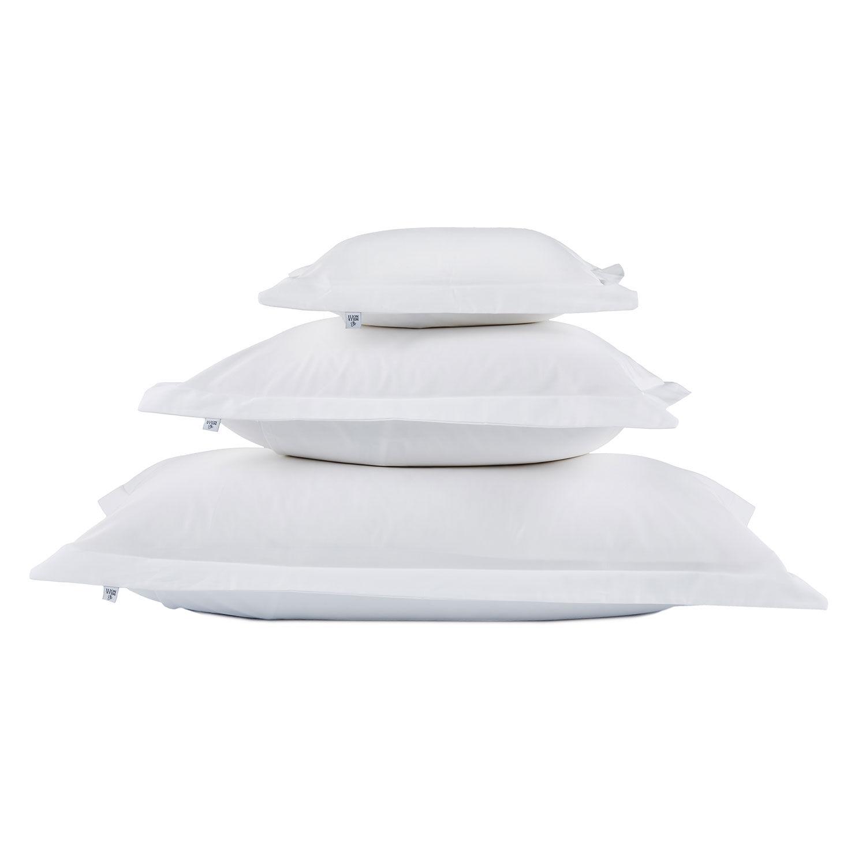 Mille Notti-Satina Tyynynpäällinen 50x60cm, Valkoinen