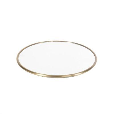 101 Copenhagen Reflect mirror circular 45 cm, messinki