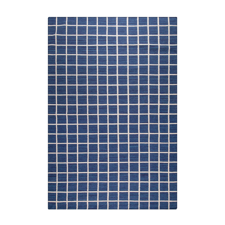 Decotique-Tapis Damier Matto Sininen/Beige, 300x400cm