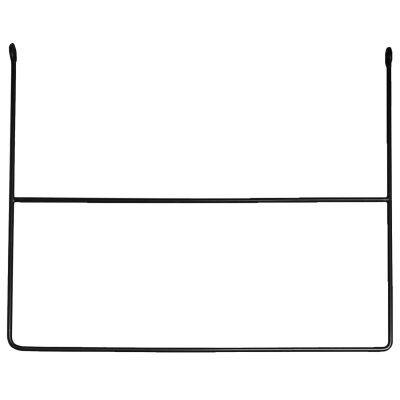 AnnaLeena Rail Rektangel vaateripustin, musta