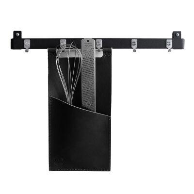 Scandinavian Design Factory Tasku keittiövälineille, musta