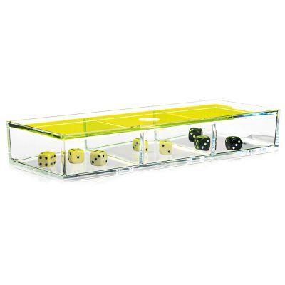 Nomess Copenhagen Clear Box 3-lokeroa, keltainen
