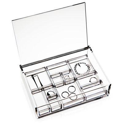 Nomess Copenhagen Clear Jewellery box,