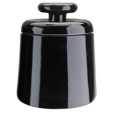 Design: Kristina Stark. Container säilytyspurkki, musta