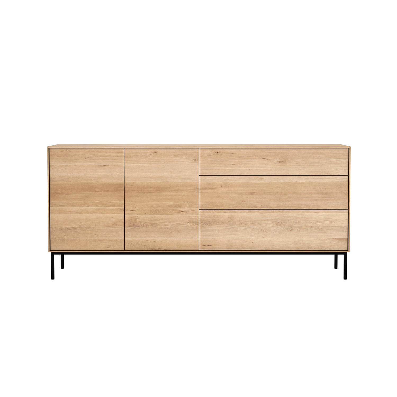Image of Ethnicraft-Whitebird Sivupöytä 2-ovea & 3-laatikkoa