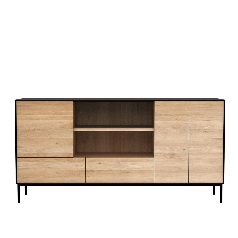 Image of Ethnicraft-Blackbird Sivupöytä, 3-ovea & 2-laatikkoa