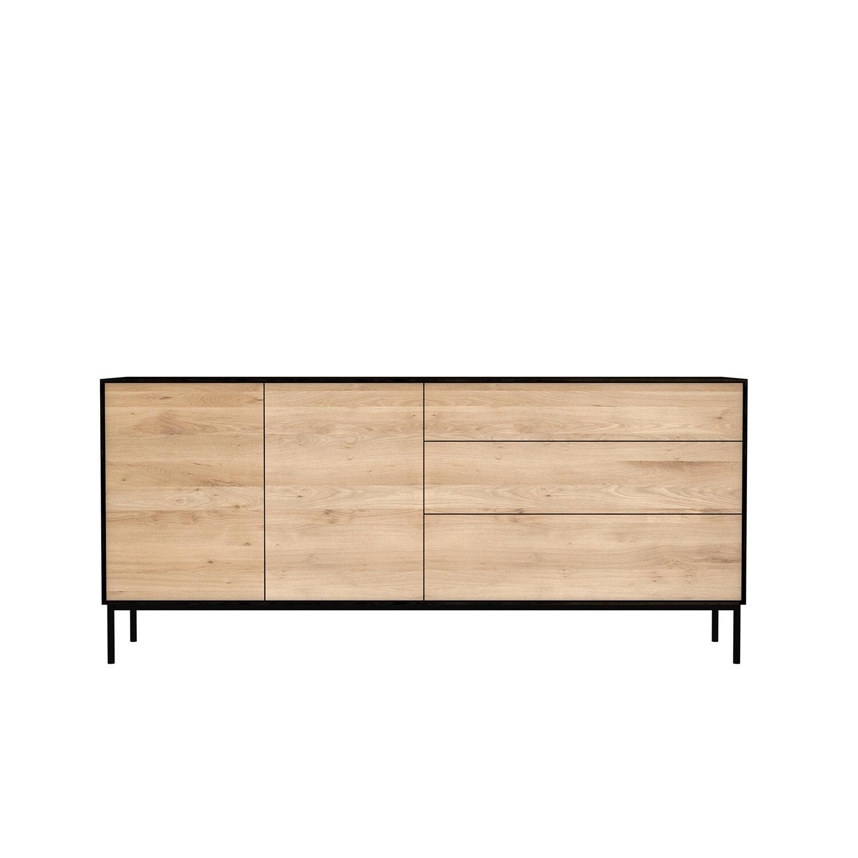 Image of Ethnicraft-Blackbird Sivupöytä, 2-ovea & 3-laatikkoa
