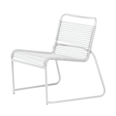 Fiam Lido lounge-tuoli, valkoinen