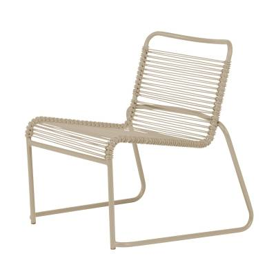 Fiam Lido lounge-tuoli, taupe