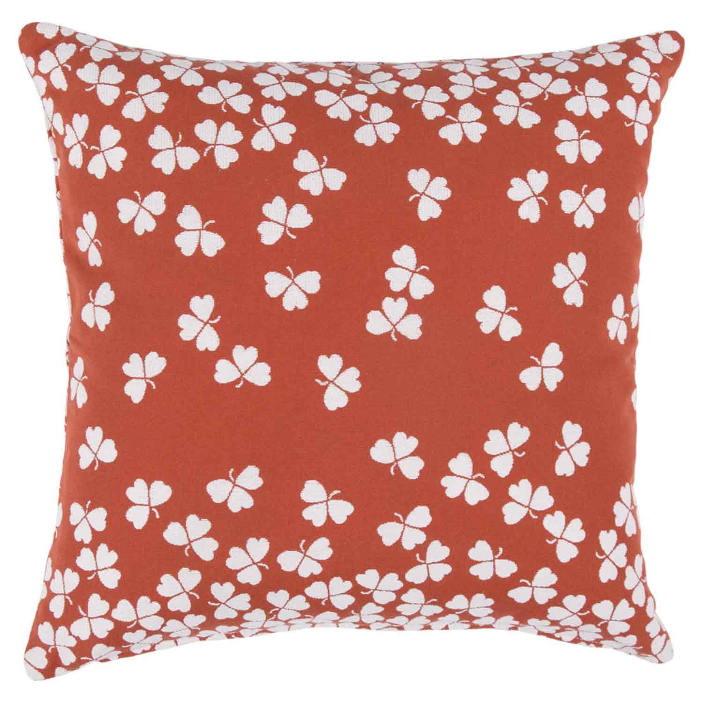 Fermob -Tréfle Cushion 44X44 cm, Red Ochre