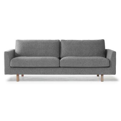Ire Stay 3-istuttava sohva, musta/valkoinen