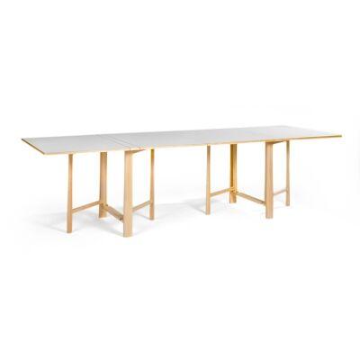 Bruno Mathsson Fällbord pöytä, valkoinen laminaatti