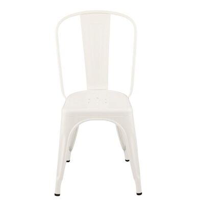 Tolix tuoli A, valkoinen