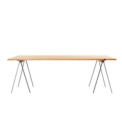 Frama F56 pöytä, teräs/tammi
