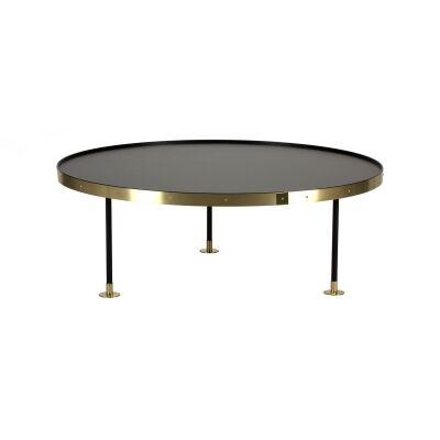 Scherlin Sohvapöytä 12, messinki/musta
