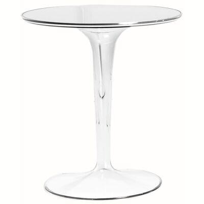 Kartell Tip Top pöytä, crystal