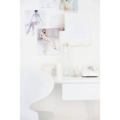 Voice Overtime kirjoituspöydän laatikko, valkoinen