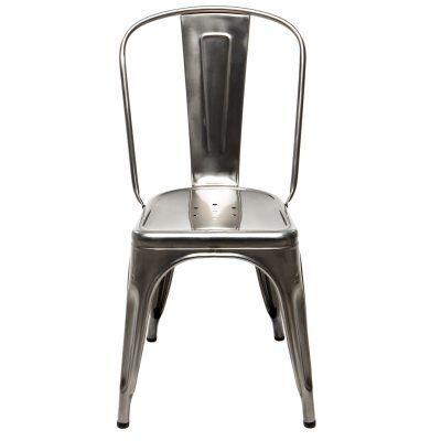 Tolix tuoli A, käsittelemätön/kirkaslakka