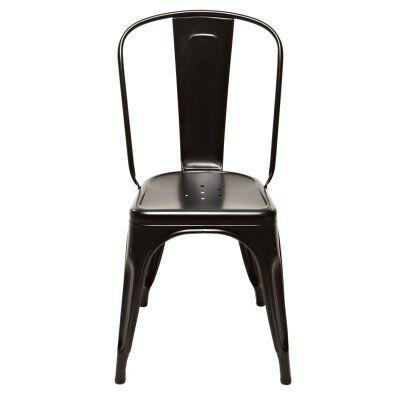 Tolix tuoli A, musta/matta
