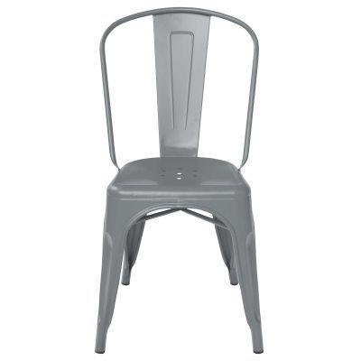 Tolix tuoli A, harmaa/matta