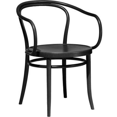 Ton No30 tuoli, musta