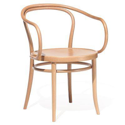 Ton No30 tuoli, luonnollinen puu/pyökki