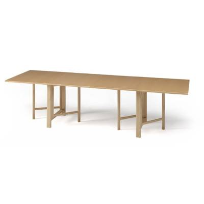 Bruno Mathsson Fällbord pöytä, tammi