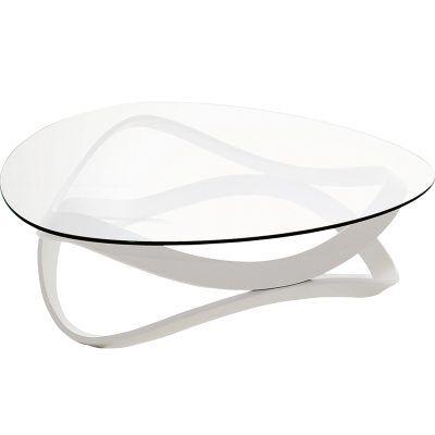 Andersson Newton sohvapöytä 92 cm halkaisija, valkoinen petsattu