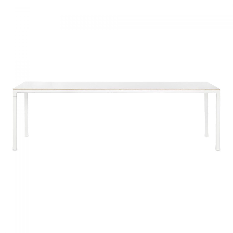 Hay-T12 Pöytä 250x95, Valkoinen laminaatti