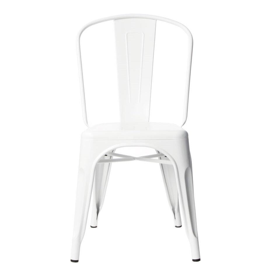 Tolix-Tuoli A Valkoinen/Matta