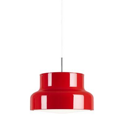 ateljé Lyktan Bumling riippuvalaisin 60 cm, opalt akrylglas/punainen