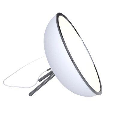 ateljé Lyktan Megalo lattiavalaisin LED 60 cm, valkoinen
