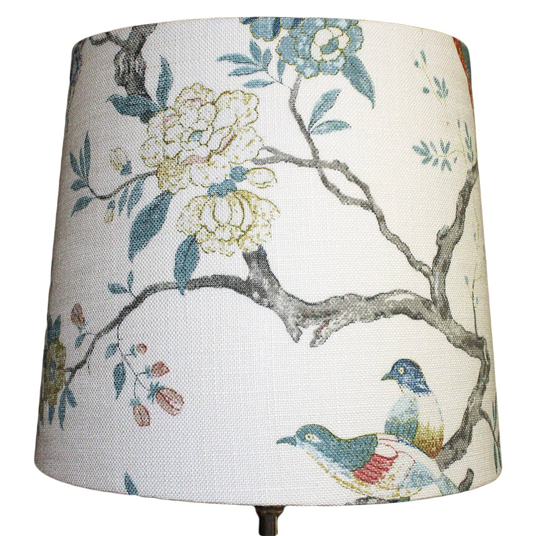 Bergo Lampskärmar-Sixten 25 Oriental Bird, White