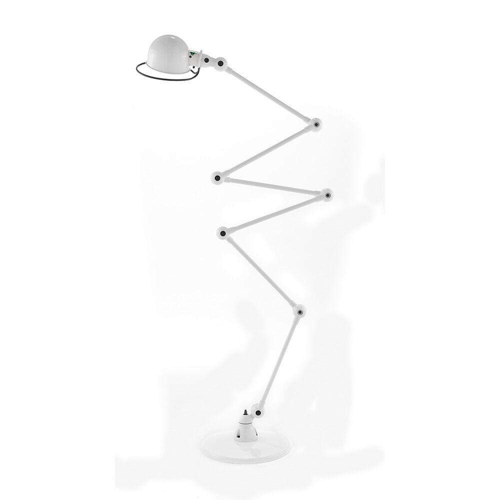 Jieldé -Loft D9406 Lattiavalaisin 240 cm, Valkoinen Matta