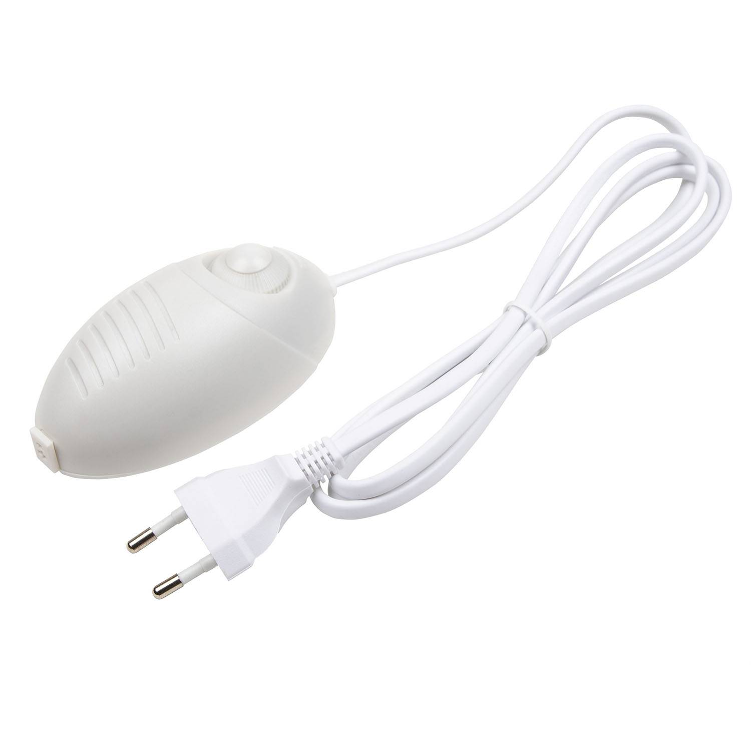 Smak Design-Dimmer/Transformer 10-60W Ink Cord Your-Plug in, White
