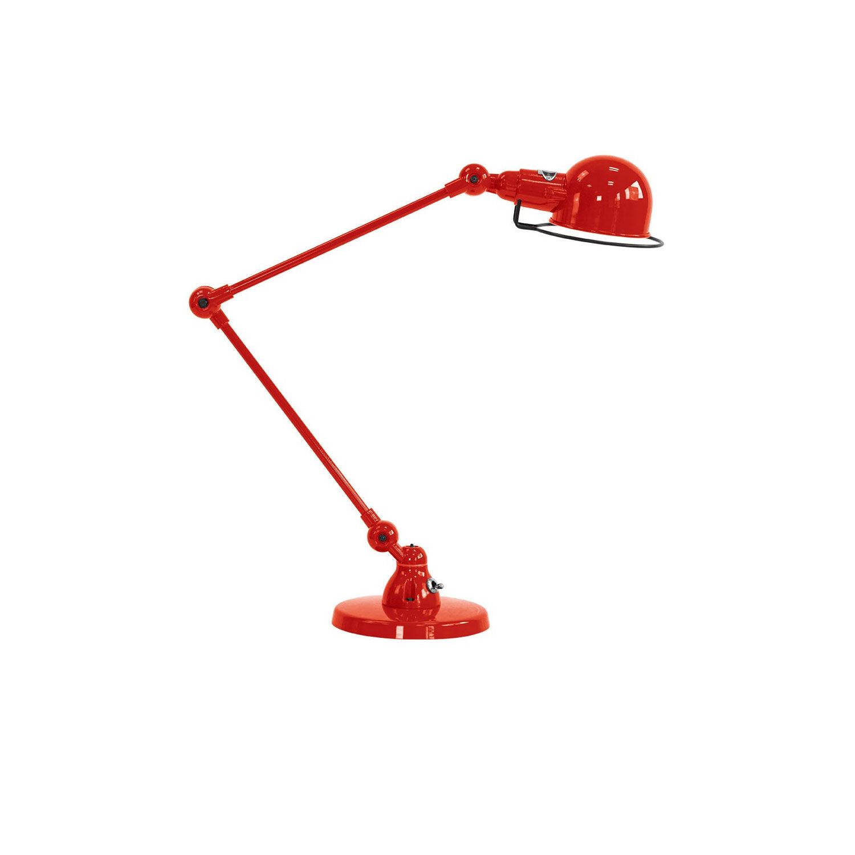 Jieldé -Signal SI333 Pöytävalaisin 60 cm, Punainen