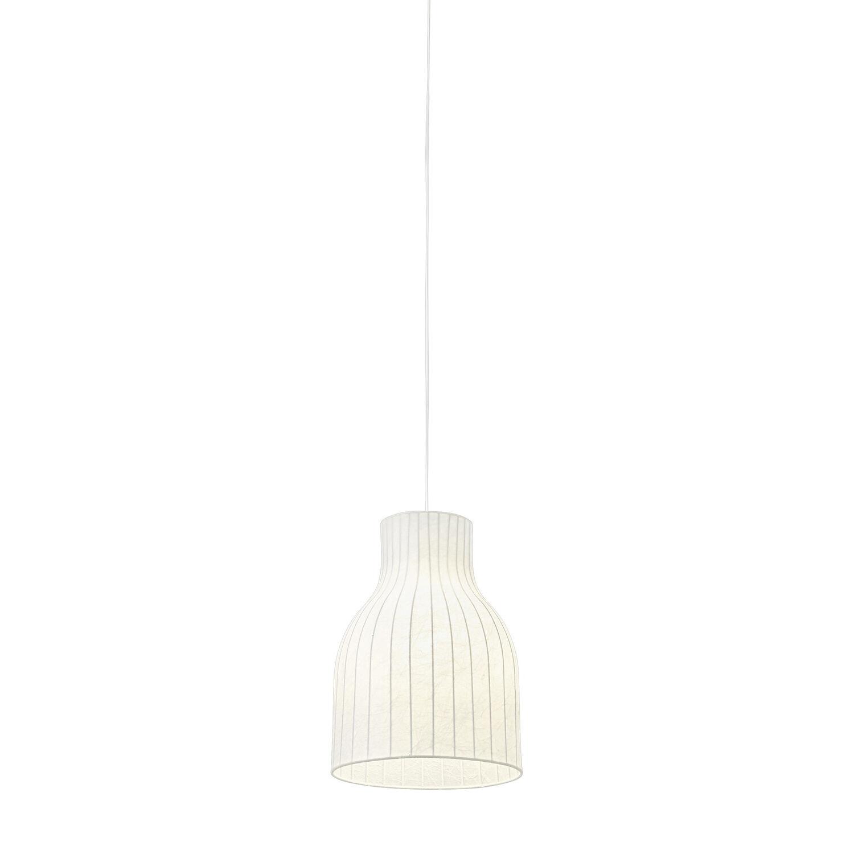 Image of Muuto-Beach Pendant Light Open Ø28, White