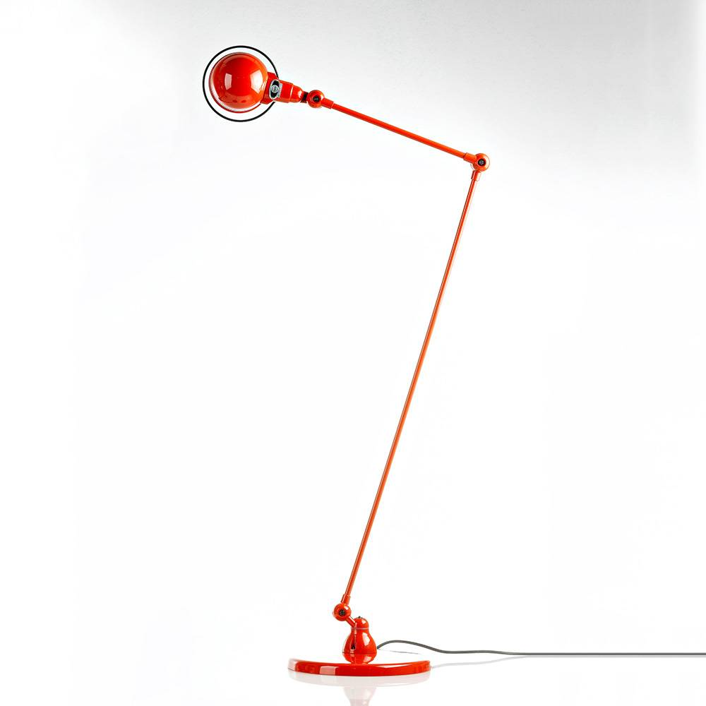 Jieldé -Signal SI833 Lattiavalaisin 115 cm, Punainen
